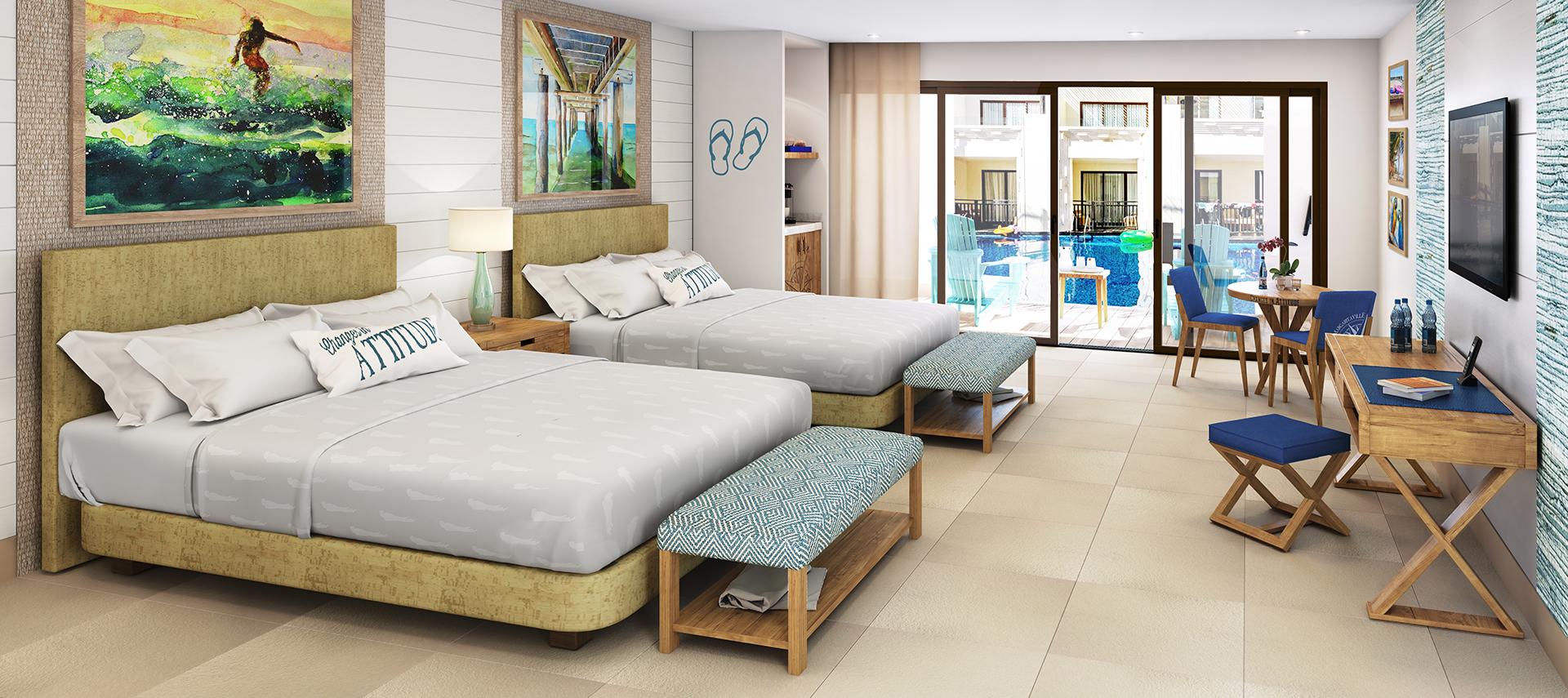 Photo of the Swim Up Paradise Junior Suite