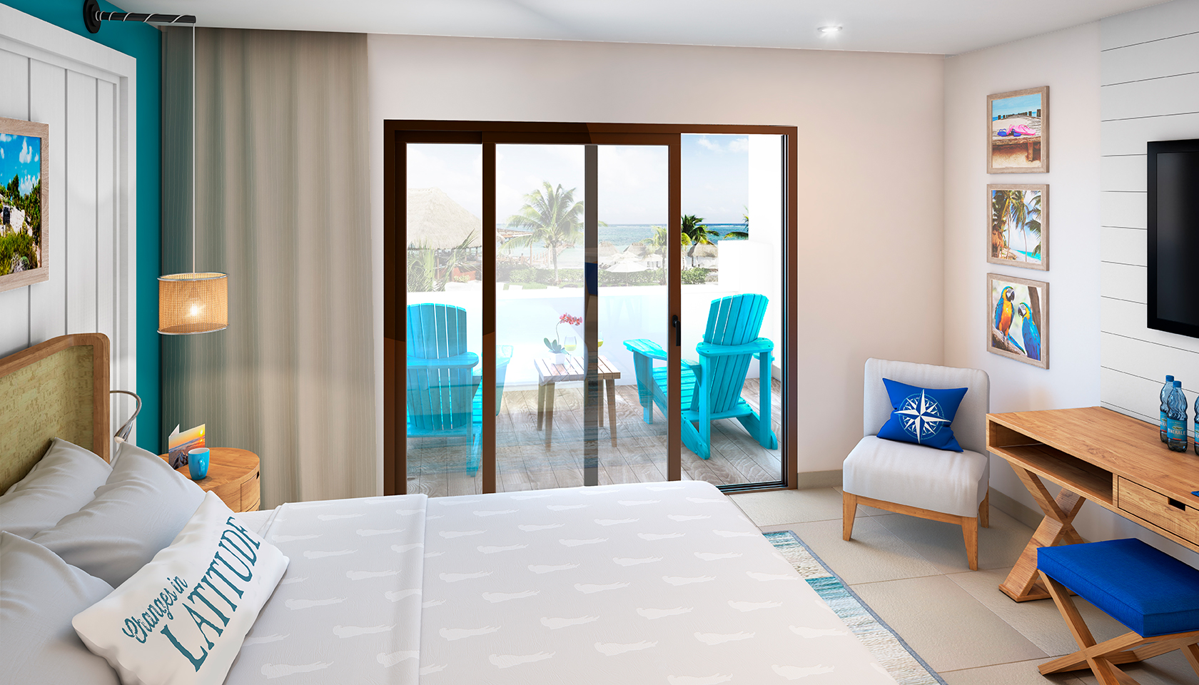 Photo of the Royal Swim Up Paradise Suite
