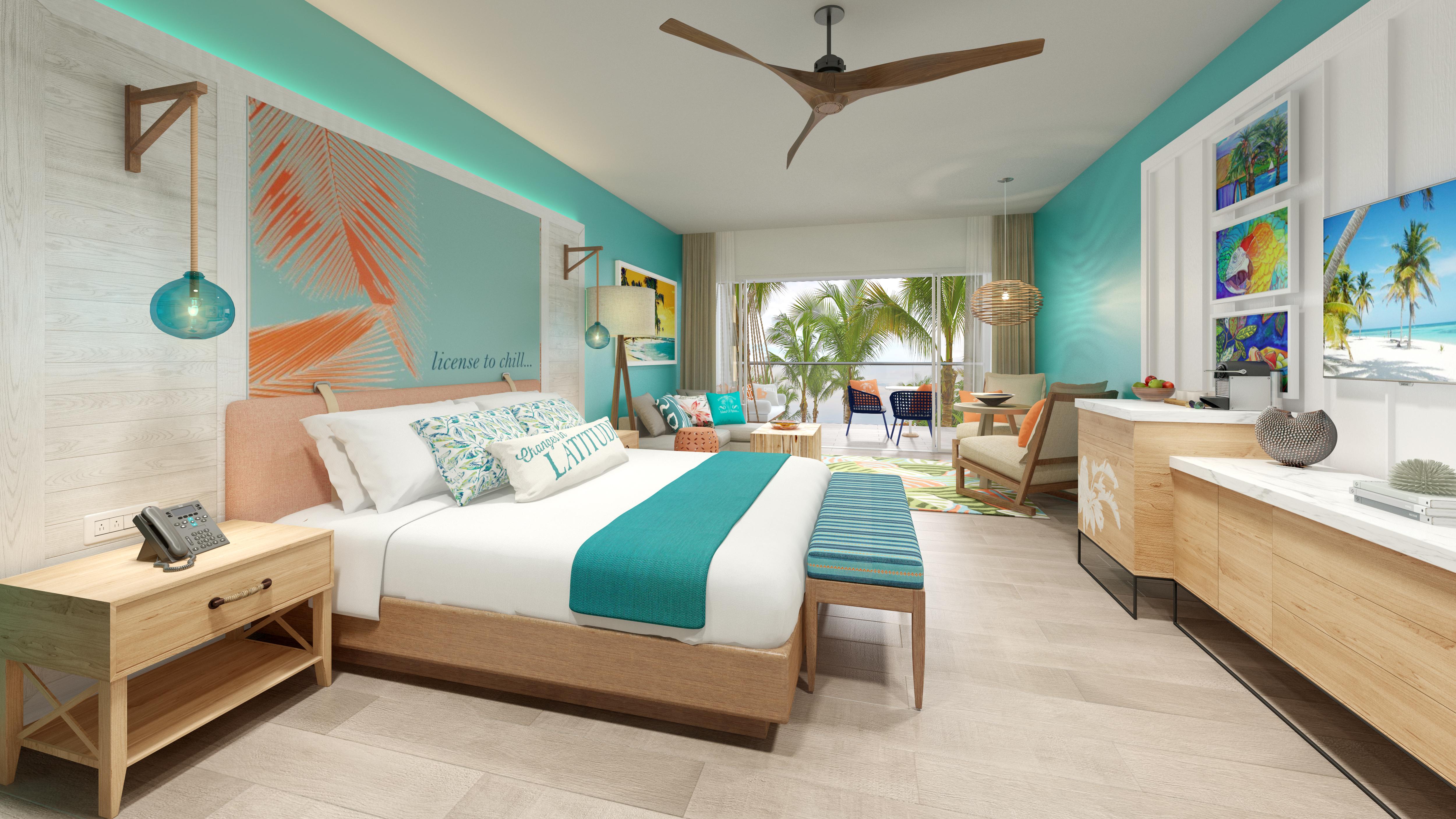 Photo of the Beachfront Honeymoon Swim Up Suite