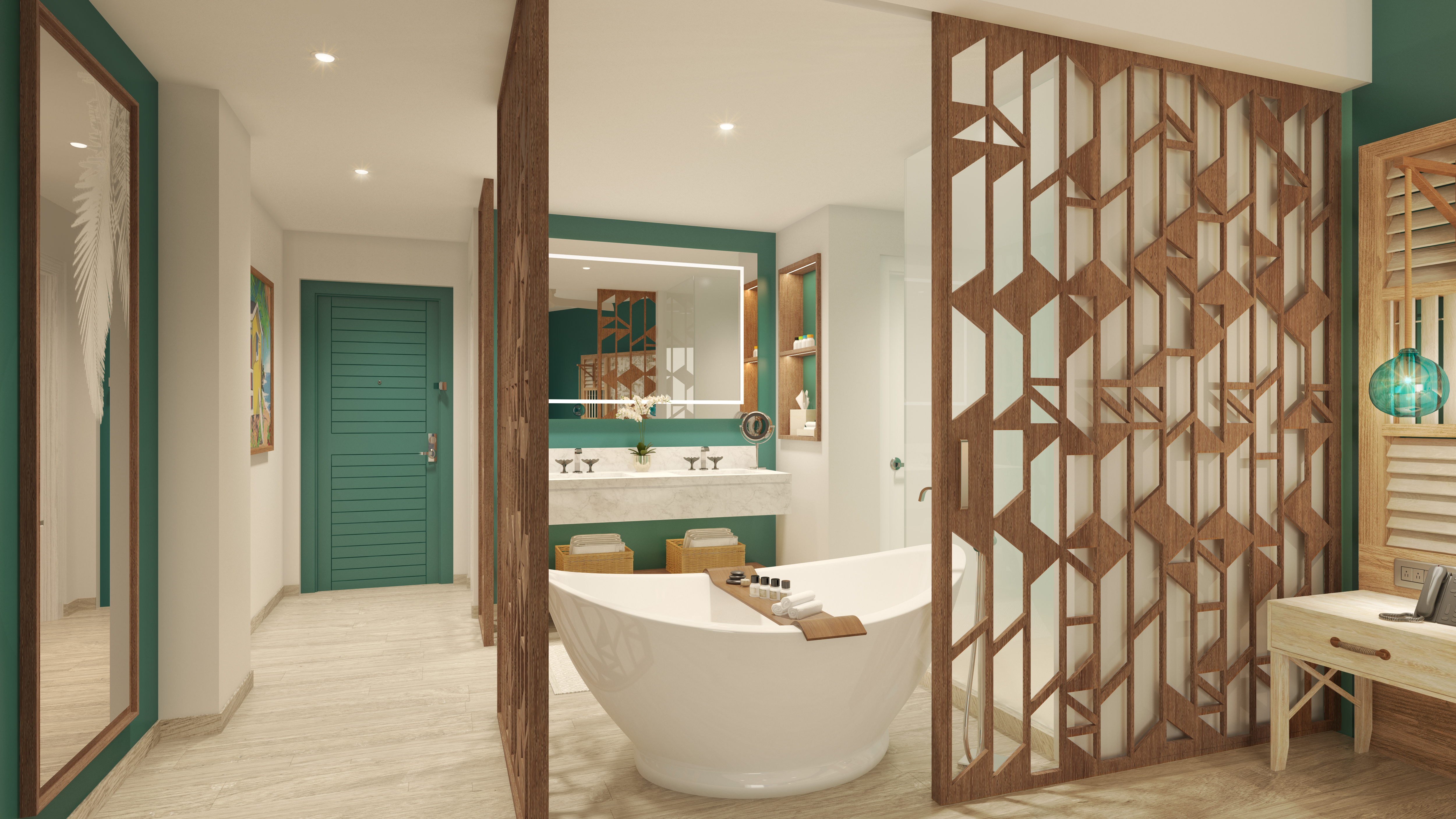 Photo of the Swim Up Luxury Junior Suite